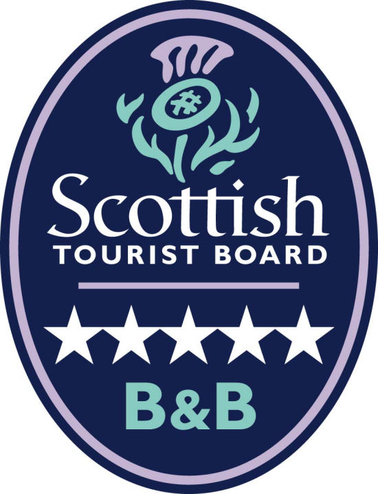 Scottish Tourist Board 5 Star Logo